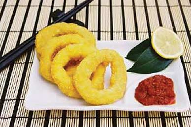 Crumbed Calamari Rings